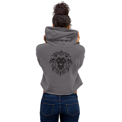Jesse James Fit Crop Hoodie