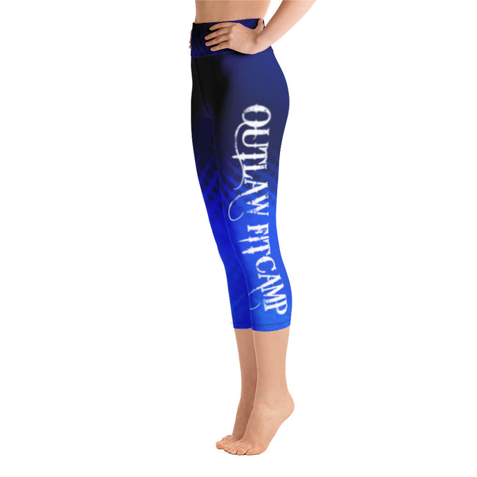 Outlaw FitCamp Electric blue capri