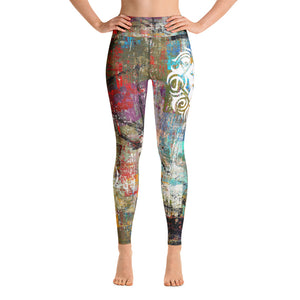 Jesse James Fit Grunge Leggings