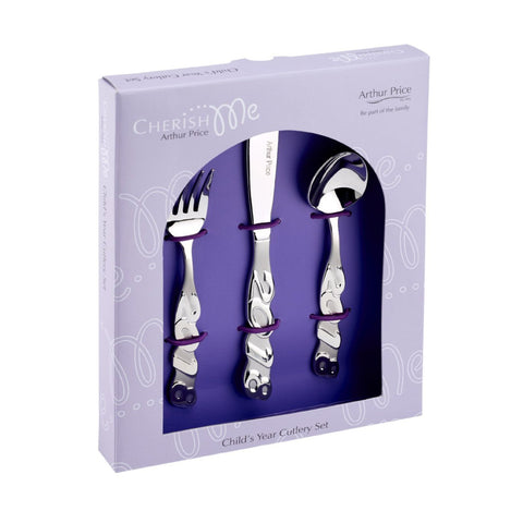 Arthur Price Limited Edition Child's Year Cutlery Set 2018