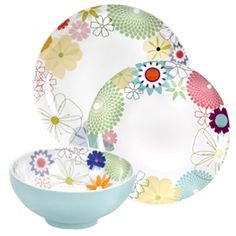 Crazy Daisy - 12 Piece Dinner Service