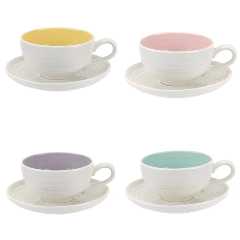 Sophie Conran Teacup & Saucer - Colour Pop