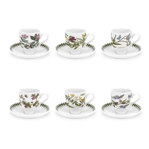 Botanic Garden Coffee Cup & Saucer (T) Traditional Shape