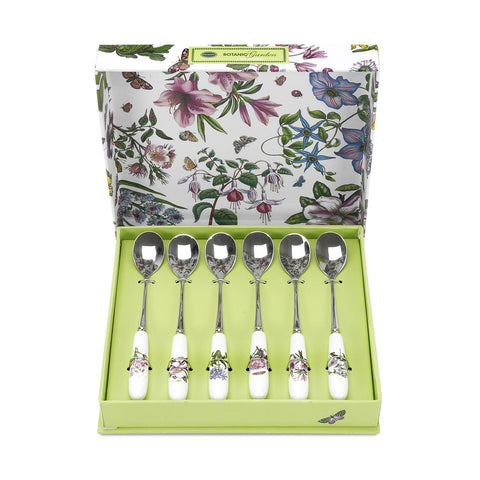 Botanic Garden Tea Spoons ( Box set of 6 )
