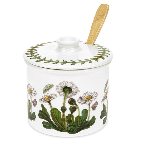 Botanic Garden Small Conserve / Sugar Pot with Lid & Spoon