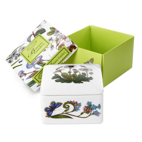 Botanic Garden Square Trinket Box