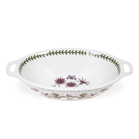 Botanic Garden Oval Handled Bowl