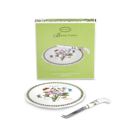 Botanic Garden Cheese Plate and Knife set