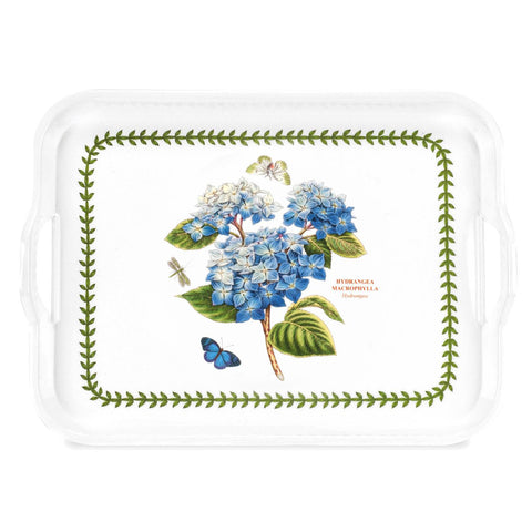 Botanic Garden Extra Large Handled Serving Tray - Hydrangea