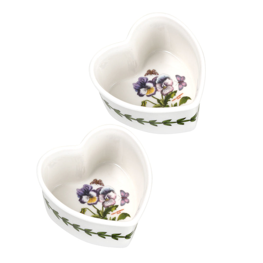 Botanic Garden Heart Ramekin - Box set of 2