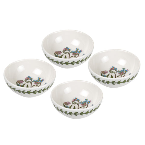 "Botanic Garden Mini Low Bowl  9.5cm / 3.75"" Box Set of 4"