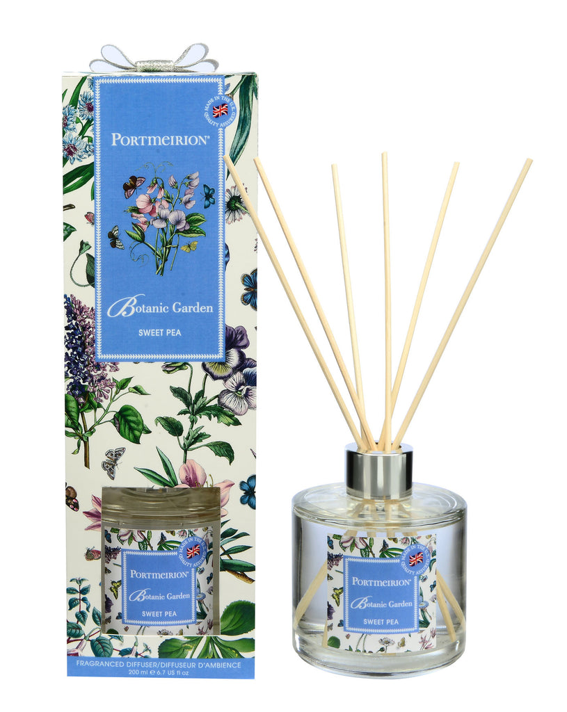 Botanic Garden Fragranced Reed Diffuser - Sweet Pea