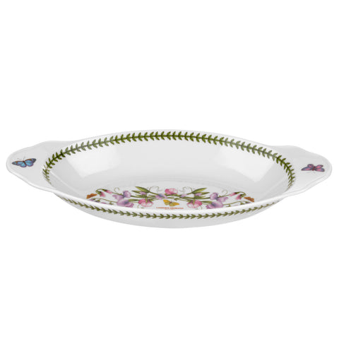 Botanic Garden Oval Baking / Serving Dish with Handles