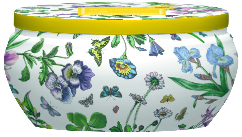 Botanic Garden Wax Filled Boutique Candle Tin - Sunflower