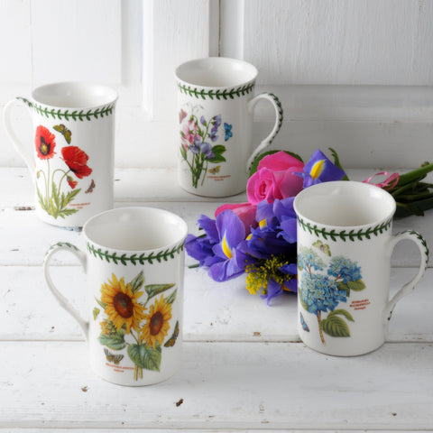 Botanic Garden Gift Boxed Set of 4 Mugs