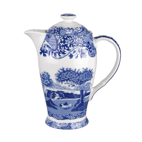 Spode Blue Italian - Hot Beverage Pot -  Special 200 Year Anniversary Edition