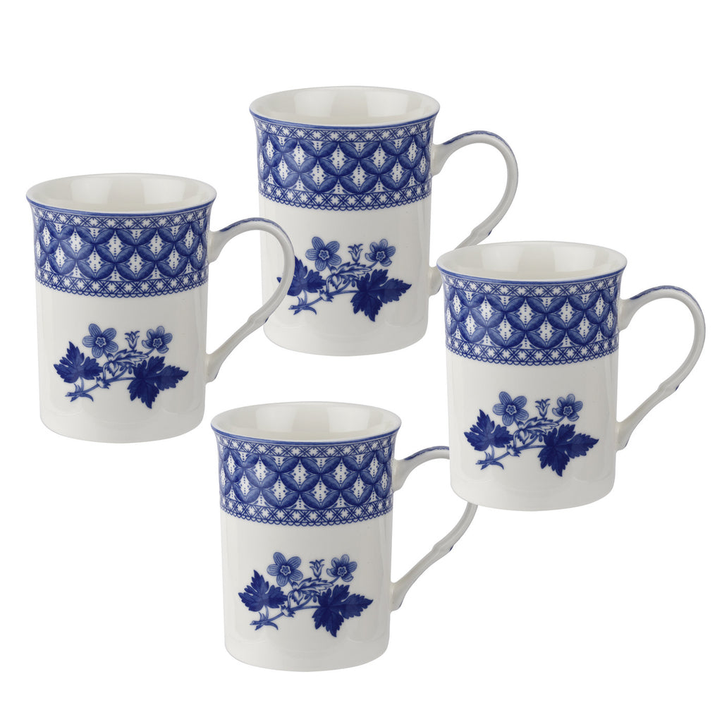 Blue Room Gift Boxed Set of 4 Mugs