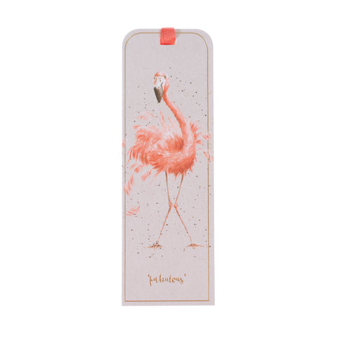 Wrendale Bookmark - Flamingo