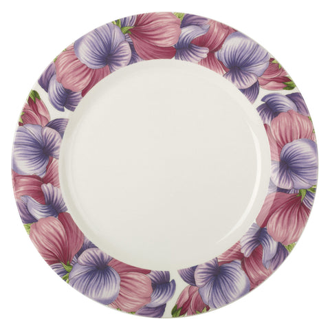 Botanic Blooms Dinner Plate - Sweet Pea