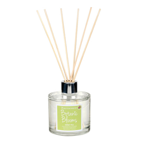 Botanic Blooms Fragranced Reed Diffuser - Sweet Pea