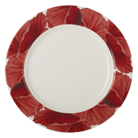 Botanic Blooms Dinner Plate - Poppy
