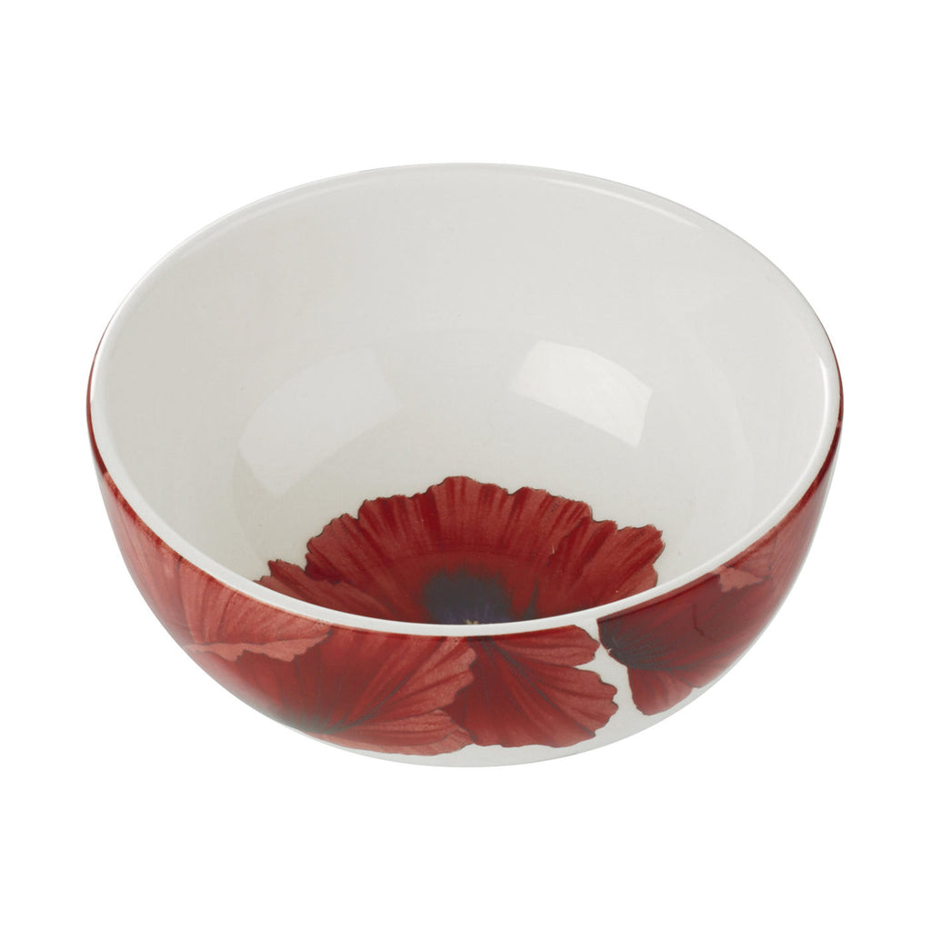 "Botanic Blooms Bowl 13.4cm / 5.25"" - Poppy"