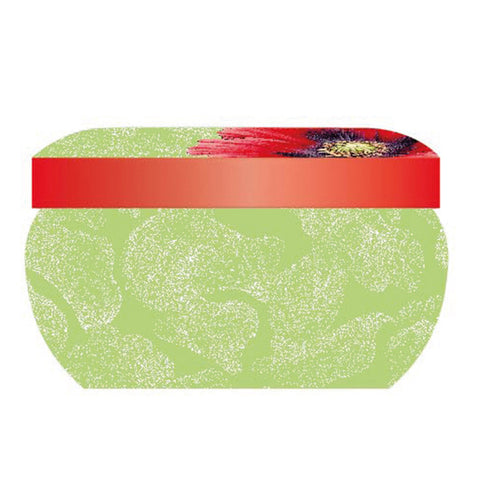 Botanic Blooms Wax Filled Boutique Candle Tin - Poppy