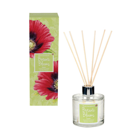 Botanic Blooms Fragranced Reed Diffuser - Poppy
