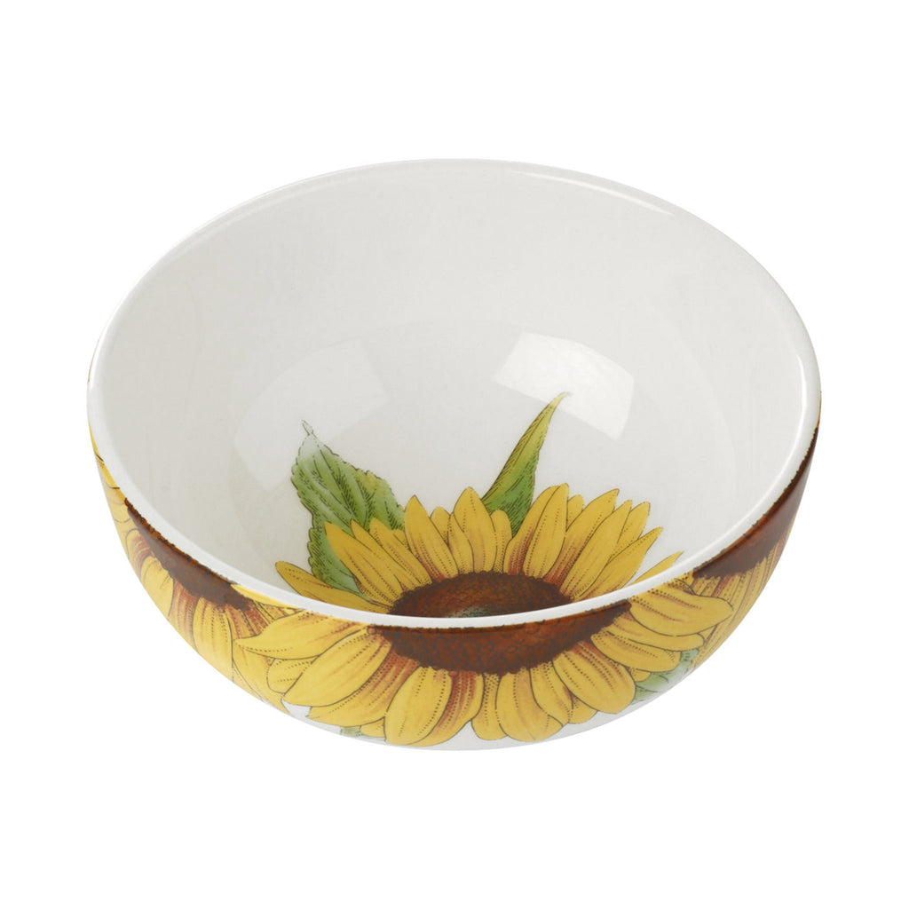 "Botanic Blooms Bowl 13.4cm / 5.25"" - Sunflower"