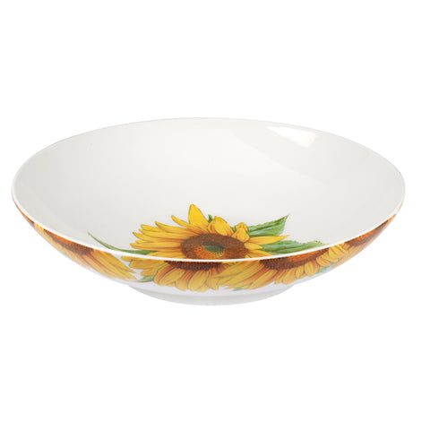 Botanic Blooms Low Bowl  - Sunflower