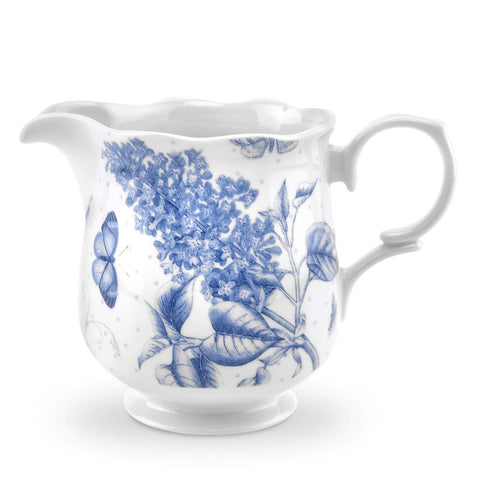 Botanic Blue Cream Jug