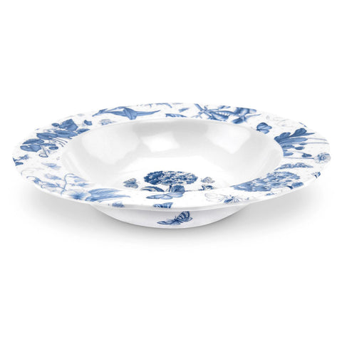 Botanic Blue Soup / Cereal Bowl