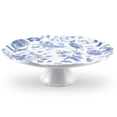 Botanic Blue Footed Cake Stand