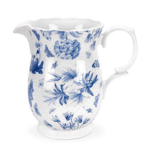 Botanic Blue Large Jug