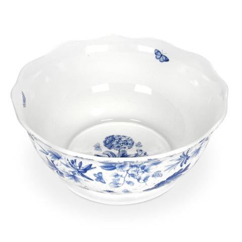 Botanic Blue Large Fruit / Salad / Serving Bowl 28.5cm / 11""