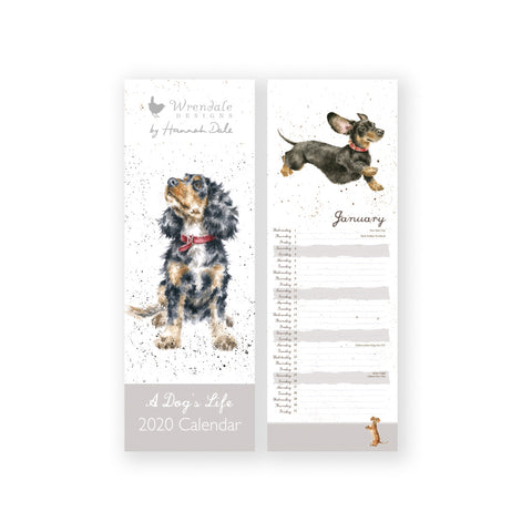 Wrendale A Dog's Life Slim Calendar 2020 ( SORRY SOLD OUT )