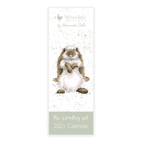 Wrendale Country Set Slim Calendar 2021 ( SOLD OUT )