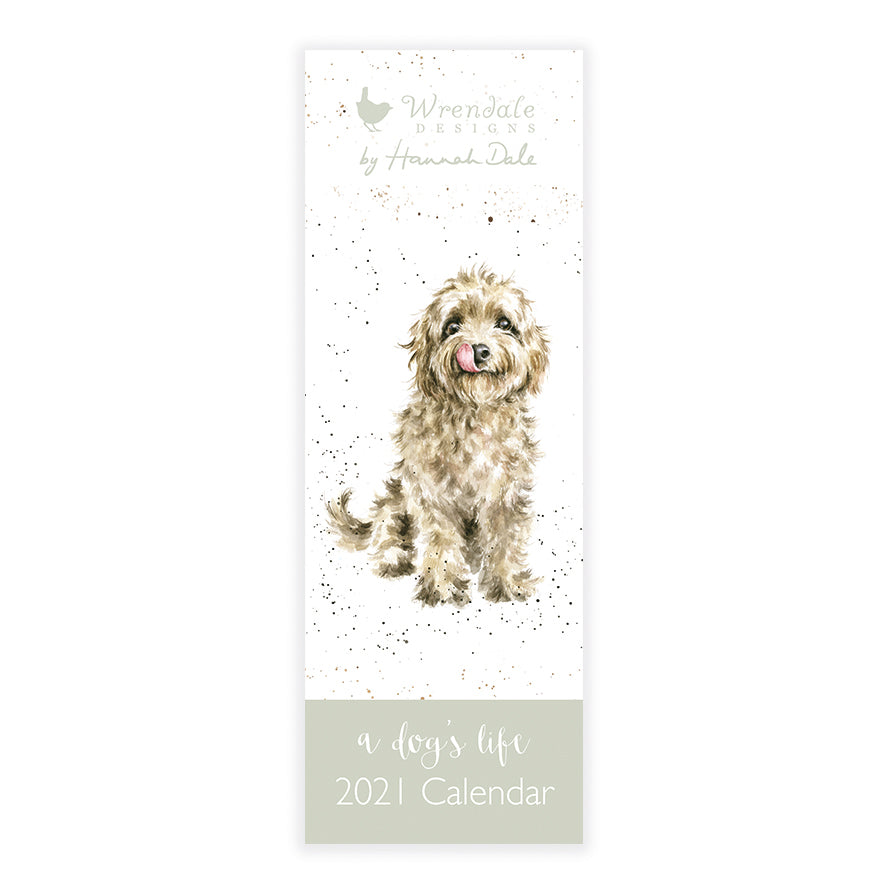 Wrendale A Dog's Life Slim Calendar 2021 SOLD OUT