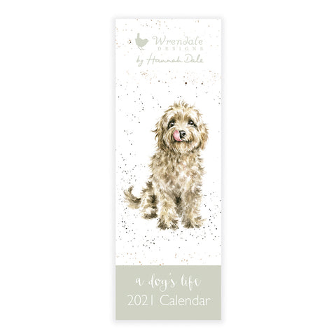 Wrendale A Dog's Life Slim Calendar 2021 ( SOLD OUT )