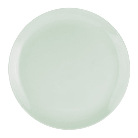 "Choices Coupe Large Dinner Plate 27cm / 10.5"" - Pastel Green"
