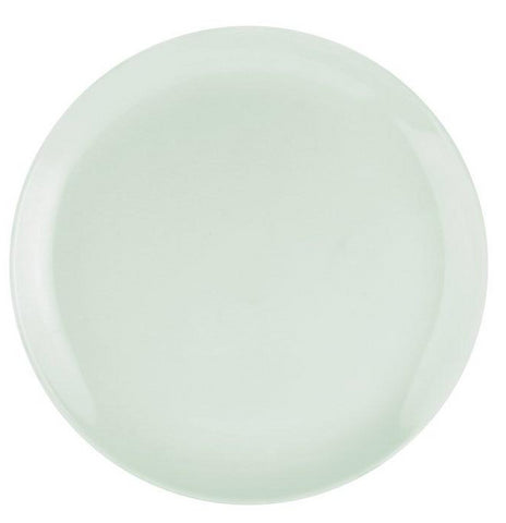"Choices Coupe Small Dinner Plate 23cm / 9.25"" - Pastel Green"