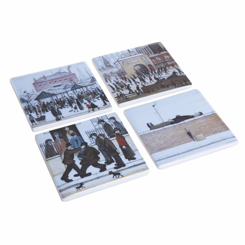 John Beswick Lowry Collection Coaster Set of Four