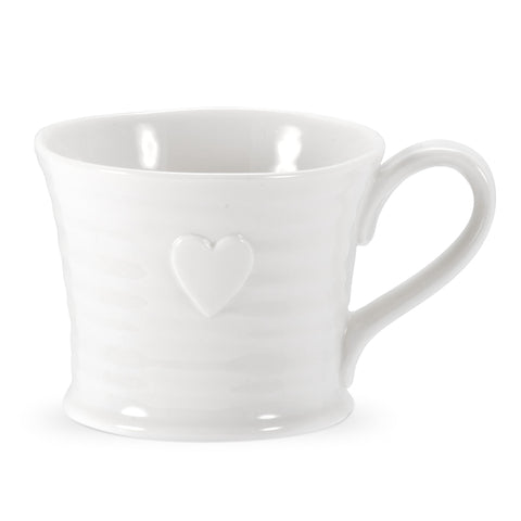 Sophie Conran Small Embossed Heart Mug