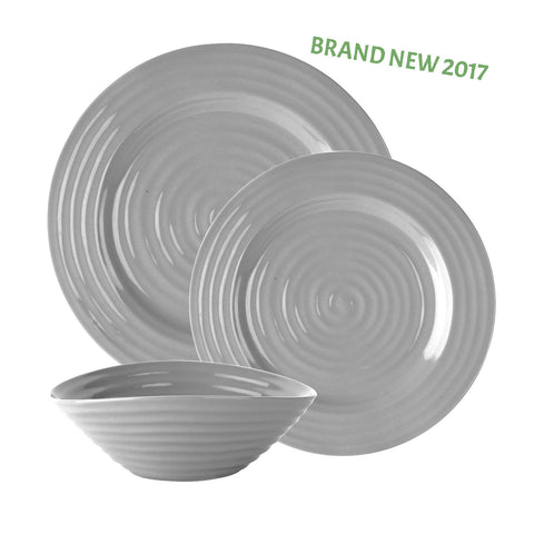 Sophie Conran 12 Piece Grey Dinner Service
