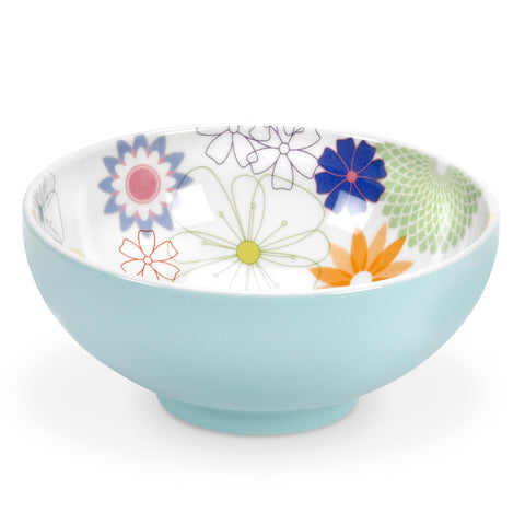 Crazy Daisy Footed Cereal Bowl 15cm / 5.75""