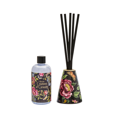 Spode Creatures of Curiosity Diffuser Set Black