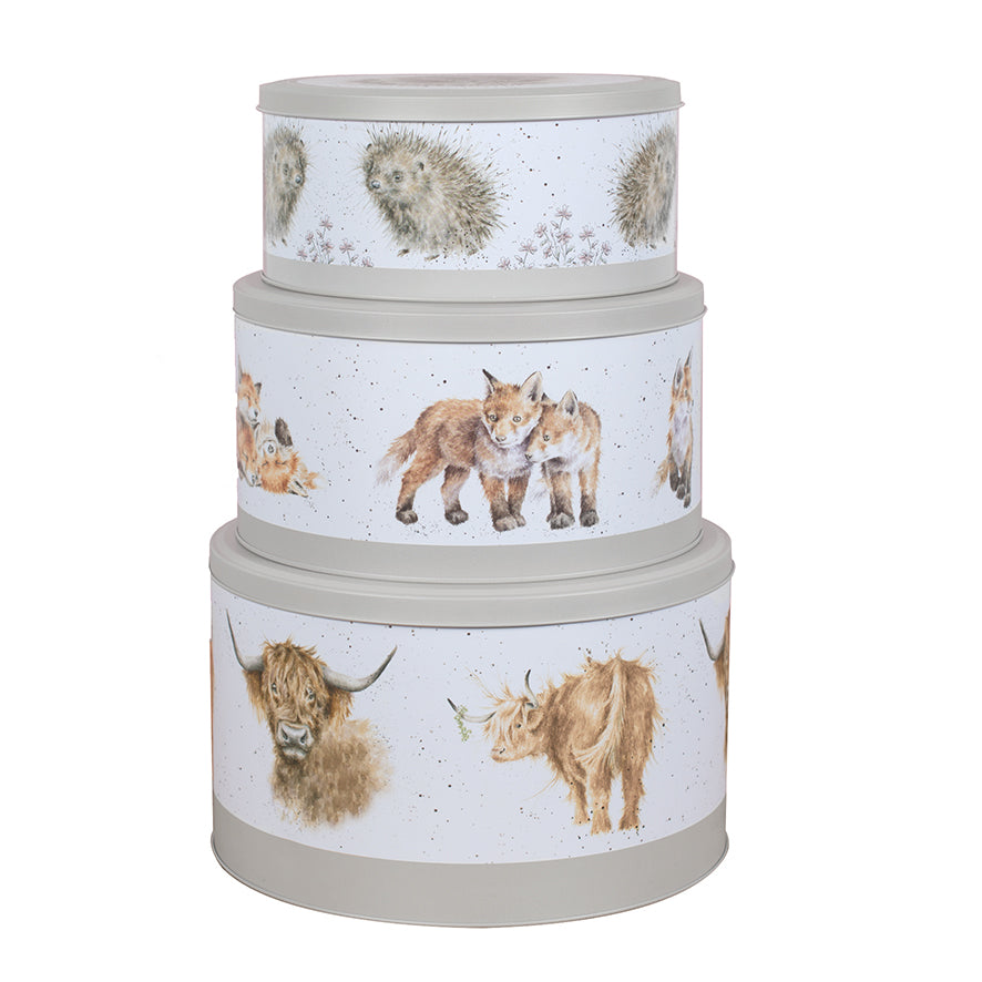 Wrendale Cake Tins - Nest of 3