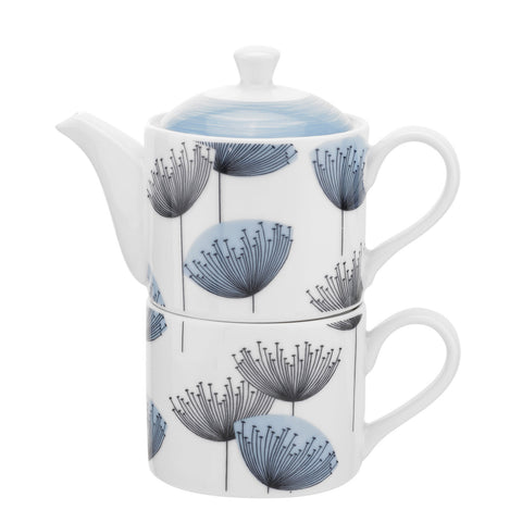 Dandelion Clocks Teapot for One