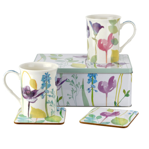 Water Garden 5 Piece Tin Set