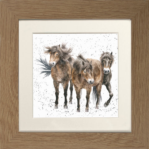 Wrendale Framed Greeting Cards - Country Set Collection Four